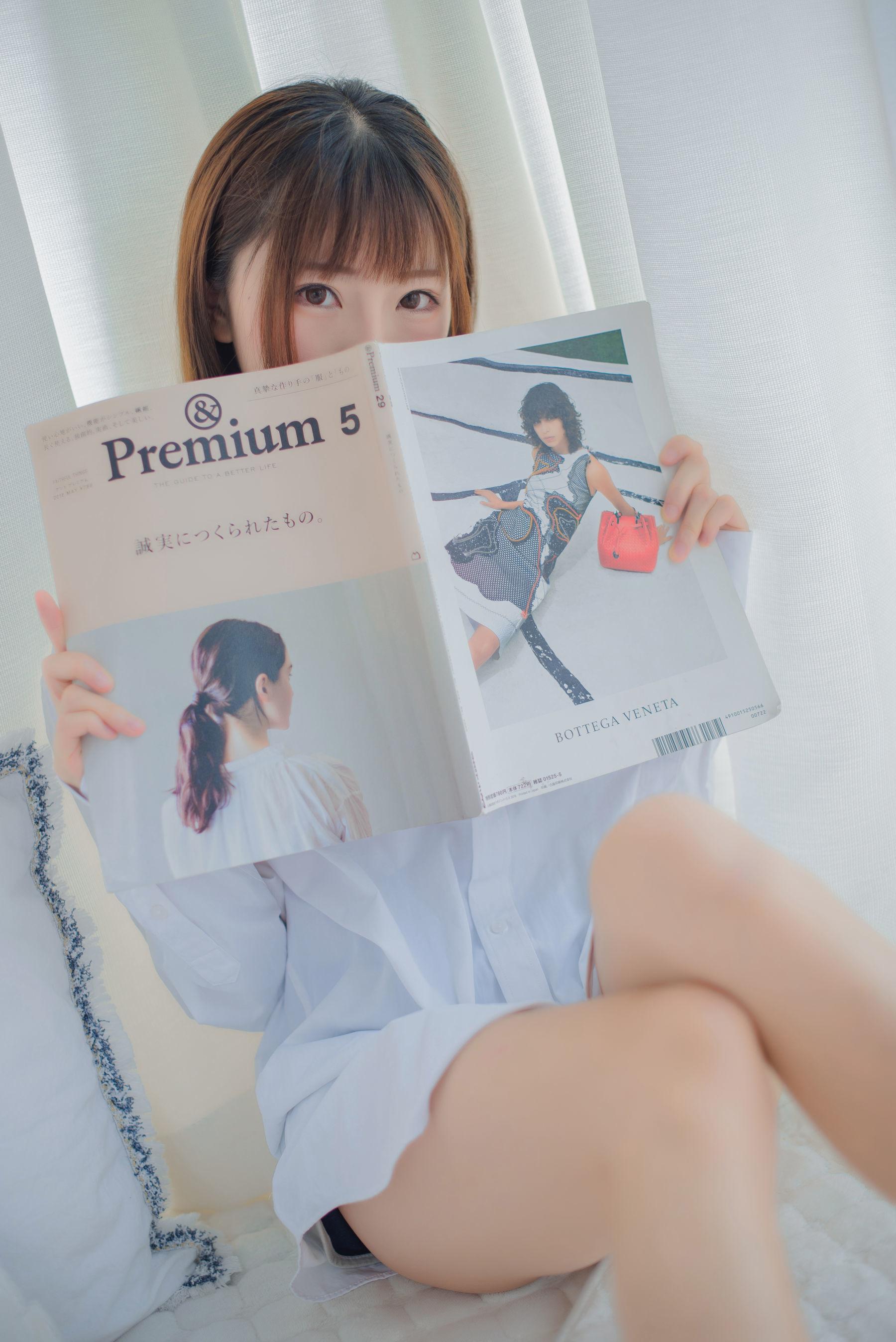 Kitaro_绮太郎 - 白衬衫 写真集